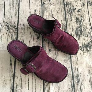 Born Purple Clogs